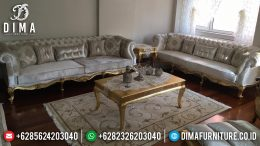 Mebel Jepara Set Kursi Sofa Tamu Mewah Luxury Arabian MM-0258