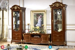 Classic Furniture Bufet TV Mewah Jepara Minimalis Terbaru MM-0316