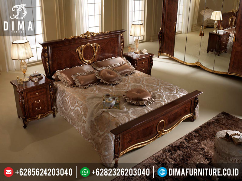 Mm-0007 Set Kamar Tidur Mewah Prodotti Classic Terbaru
