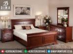Mebel Mewah Jepara Set Kamar Tidur Minimalis Jati TPK Terbaru MM-0023