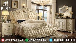 Best Seller Mebel Jepara Set Kamar Tidur Mewah Minimalis MM-0052