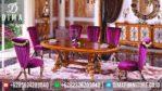 Dima Furniture Jepara Set Meja Makan Mewah Ukiran Terbaru MM-0053