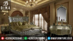 Luxury Mebel Jepara Set Kamar Tidur Mewah Rococo Silver MM-0050