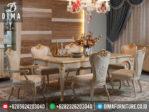 Meja Kursi Makan Mewah Minimalis Terbaru Jepara MM-0029