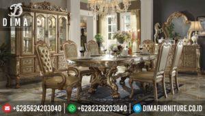 Meja Makan Jepara Terbaru, Set Meja Makan Mewah, Kursi Makan Mewah Duco MM-0064
