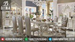 Meja Makan Mewah Terbaru, Set Meja Makan Minimalis Jepara, Kursi Makan Mewah Minimalis MM-0065