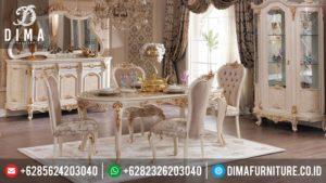 Model Meja Makan Jepara Terbaru Minimalis Mewah Duco Sadabad MM-0088