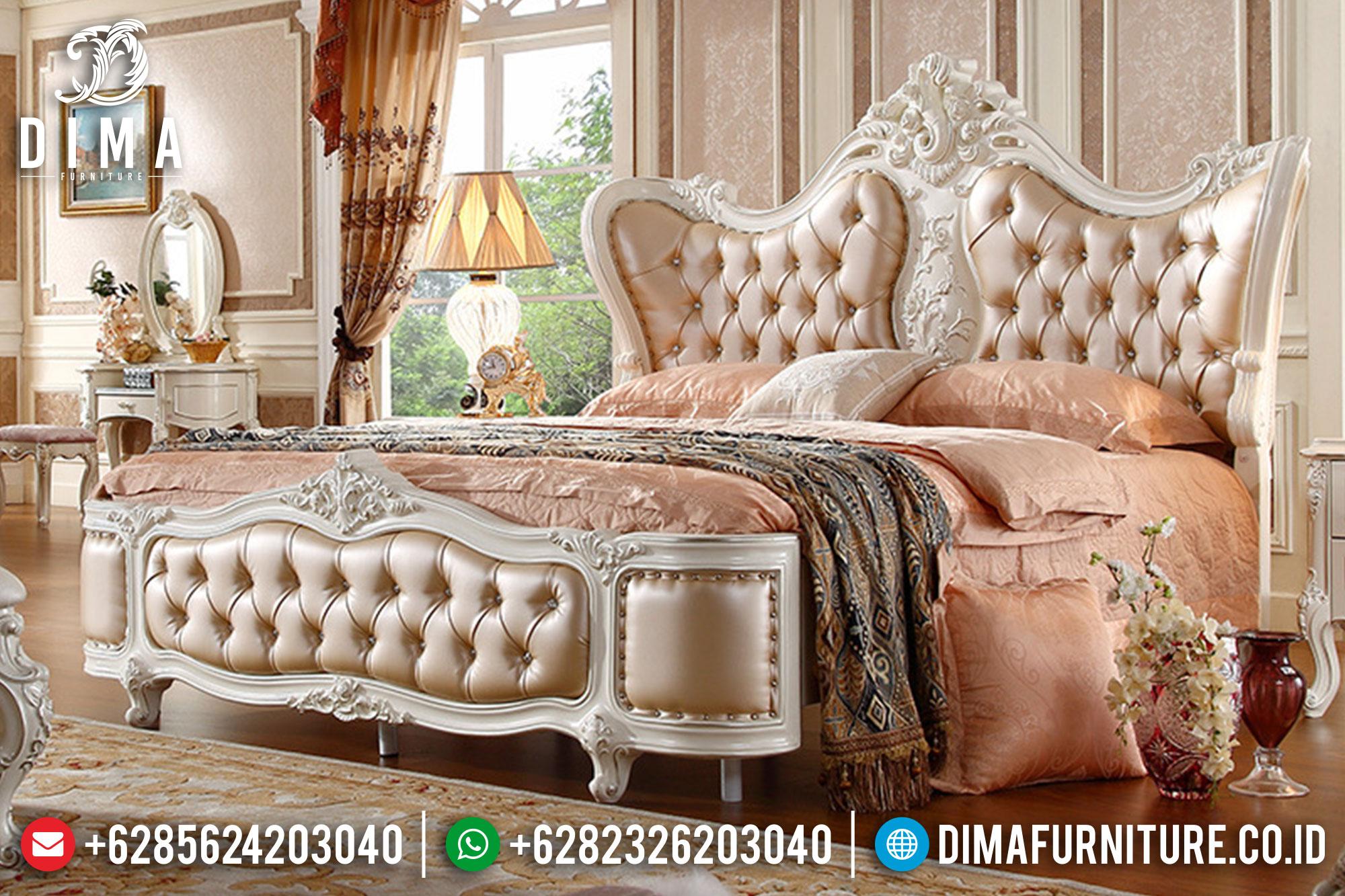 Tempat Tidur Klasik Mewah Mebel Jepara Terbaru ST-0125