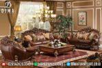 Mebel Jati Jepara Set Kursi Sofa Tamu Mewah Ukiran Terbaru MM-0132