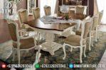 Meja Makan Jepara Terbaru, Set Meja Makan Mewah, Meja Makan Minimalis MM-0127
