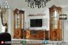Meja Tv Minimalis Jati Bufet Lemari Hias Mewah Jepara Terbaru Mm-0142