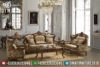 Sofa Tamu Jati Jepara Ukiran Mewah Terbaru Luxury 3 2 1 MM-0140