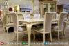 Meja Makan Minimalis Mewah, Meja Makan Jepara, Mebel Jepara Mewah Terbaru Mm-0153