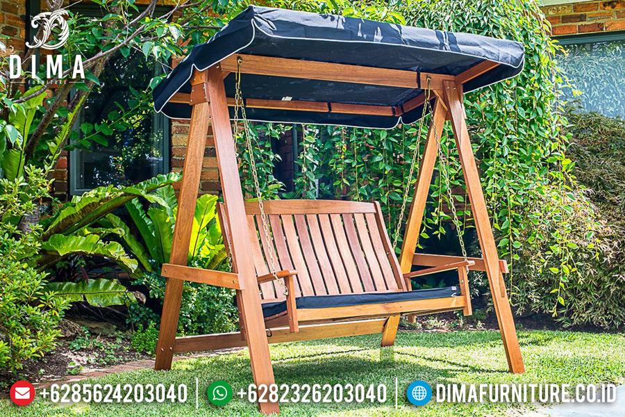 Garden Furniture Kursi Ayunan Minimalis Jati Jepara Terbaru MM-0208