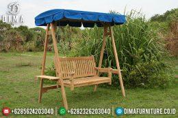 Garden Swing Bench Teak Kursi Ayunan Minimalis Jati MM-0209