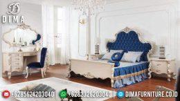 Kamar Set Jepara Mewah Ivory Duco Terbaru Seri Osmanli MM-0164