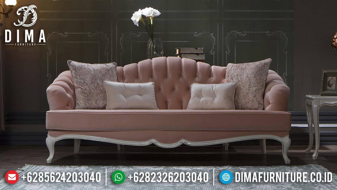 Kursi Ruang Tamu Mewah Minimalis, Mebel Jepara Terbaru, Sofa Mewah Shabby Chic MM-0193 Gambar 2