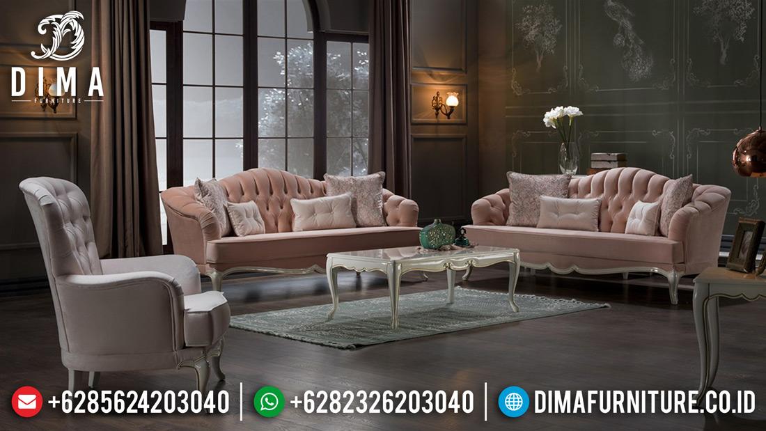 Kursi Ruang Tamu Mewah Minimalis, Mebel Jepara Terbaru, Sofa Mewah Shabby Chic MM-0193