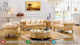 Set Kursi Sofa Tamu Jepara Mewah Royal Luxury Duco Emas Terbaru MM-0195