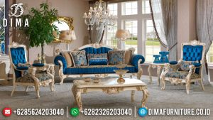 Set Kursi Sofa Tamu Mewah Jepara Duco Putih Emas Terbaru Erciyes MM-0170