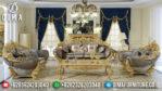 Set Kursi Sofa Tamu Mewah Ukiran Jepara Terbaru Luxury Duco Ivory MM-0197