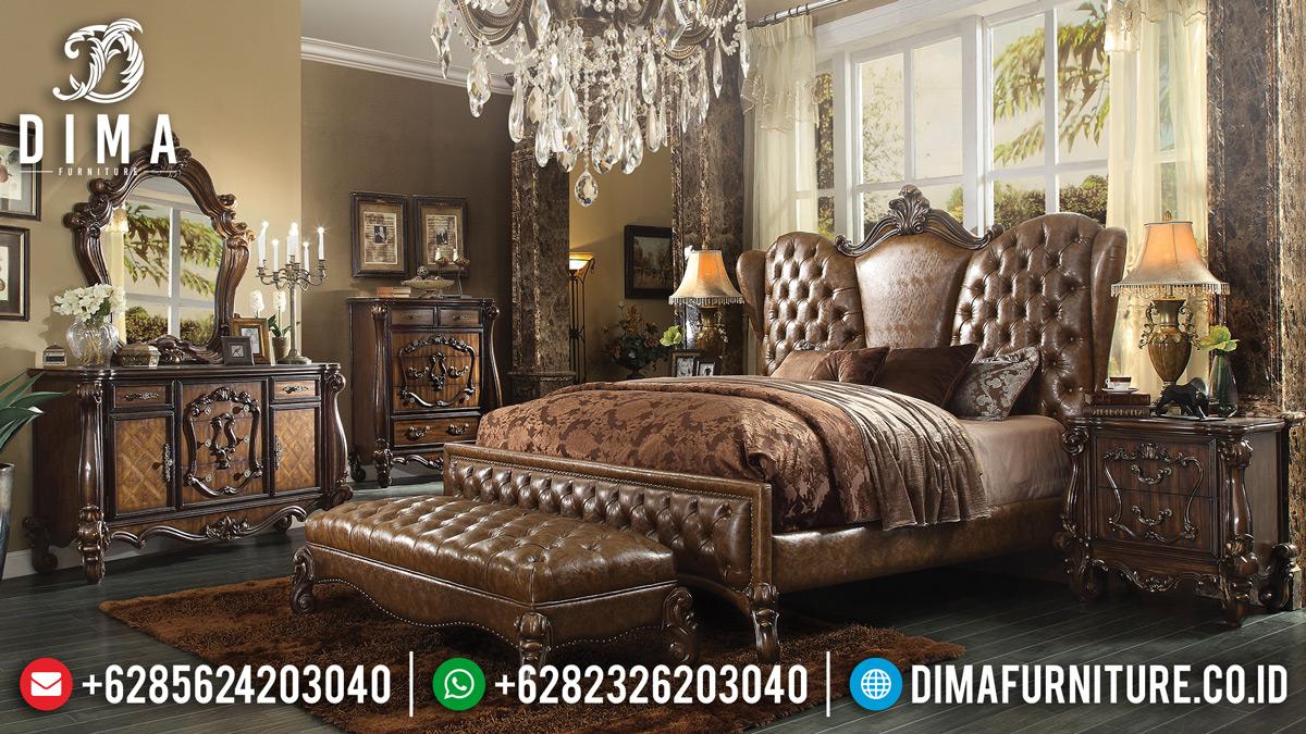 Kamar Set Mewah Jepara Terbaru Jati Full Cover Royals Luxury MM-0219