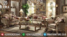 Kursi Sofa Tamu Jepara Mewah Luxury Klasik Ukiran Terbaru MM-0211
