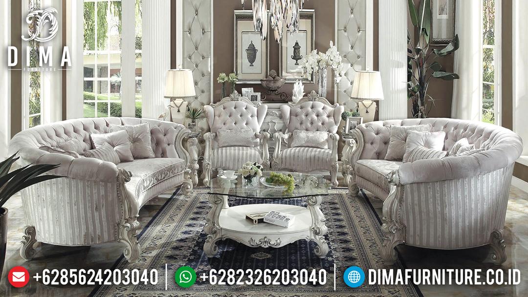 Kursi Sofa Tamu Mewah Jepara, Sofa Ruang Tamu Klasik, Kursi Tamu Jati Jepara MM-0228 Gambar 1