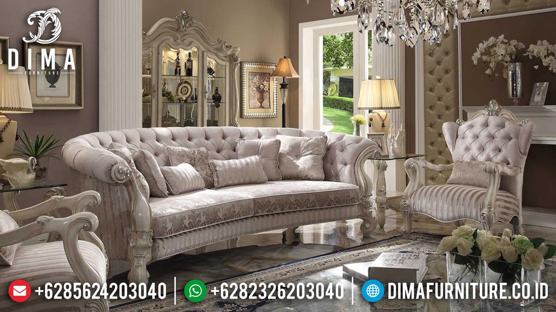Kursi Sofa Tamu Mewah Jepara, Sofa Ruang Tamu Klasik, Kursi Tamu Jati Jepara Mm-0228 Gambar 2