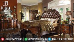 Set Tempat Tidur Mewah Jepara Jati Ukiran Klasik Terbaru Dresden MM-0220