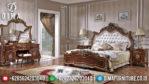 Set Tempat Tidur Mewah, Kamar Set Jepara Terbaru, Dipan Jati Jepara MM-0221