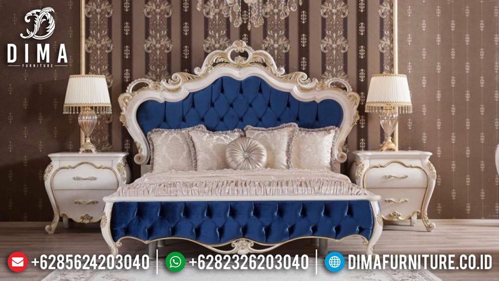 Kamar Set Mewah Jepara, Set Kamar Tidur Duco, Tempat Tidur Minimalis Terbaru MM-0230 Gambar 1