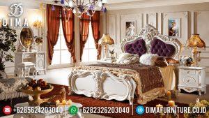Kamar Set Mewah Duco Ivory, Set Kamar Tidur Pengantin, Kamar Set Jepara MM-0239