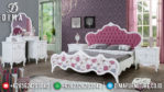 Kamar Set Minimalis Jepara Terbaru Vintage Shabby Chic Duco Putih Mewah MM-0240