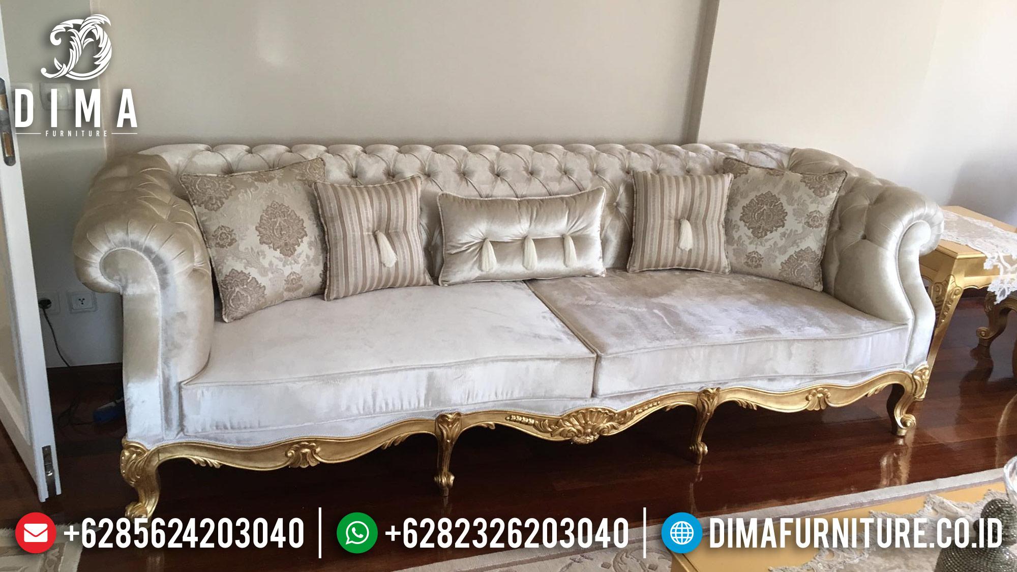 Mebel Jepara Set Kursi Sofa Tamu Mewah Luxury Arabian MM-0258 Gambar 1
