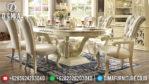Meja Makan Mewah Ukiran Klasik Jepara European Style MM-0255