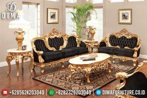 Jual Mebel Jepara Set Sofa Tamu Mewah Klasik Duco Emas Emperor MM-0271