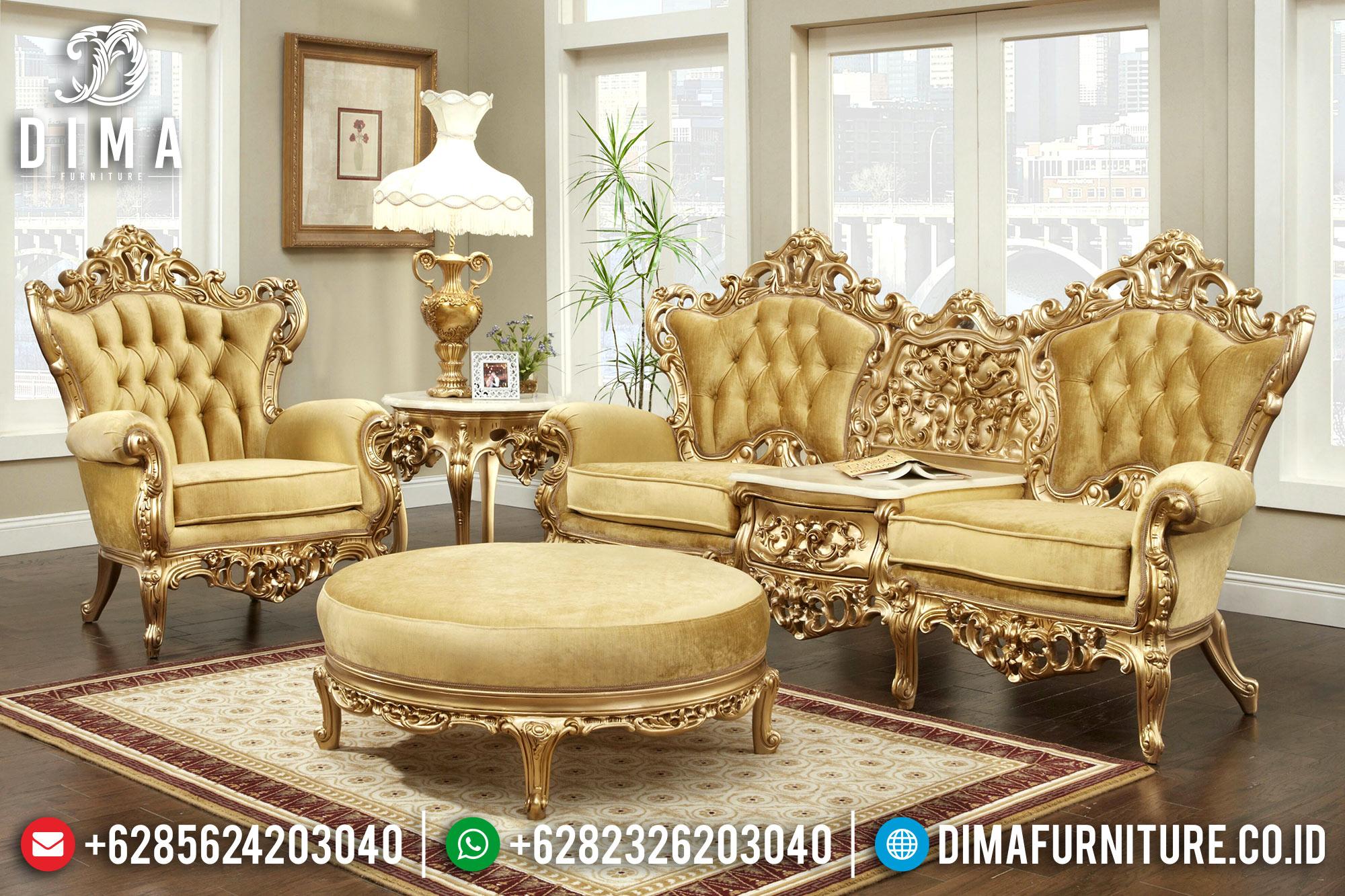 Sofa Tamu Jepara Klasik Mewah Wonzenski MM-0272