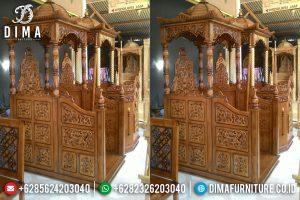 Mebel Jepara Terbaru, Mimbar Masjid Jati, Mimbar Jati Jepara MM-0277