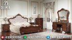 Set Kamar Tidur Jati Jepara Tempat Tidur Mewah Klasik Arvia MM-0282