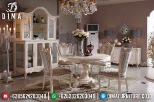 Set Meja Makan Mewah Jepara Model Terbaru Harga Murah MM-0278