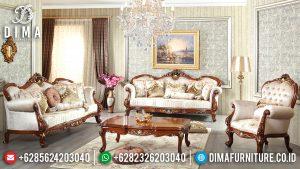 Beli 1 Set Sofa Tamu Jepara Mewah Terbaru Model Klasik Ukir Jati MM-0294