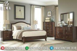 Set Kamar Tidur Minimalis Jepara Mewah Terbaru Jati TPK MM-0298