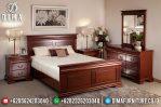 Set Kamar Tidur Minimalis Mewah, Dipan Jati Jepara, Mebel Jepara Terbaru MM-0297