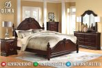 Set Tempat Tidur Minimalis Mewah Jepara MM-0299