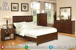 Tempat Tidur Minimalis Jepara, Set Kamar Tidur Minimalis, Dipan Jati Jepara MM-0296