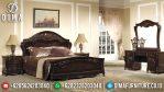 Jual Mebel 1 Set Kamar Tidur Mewah Jepara Classic Jati TPK Terbaru MM-0309