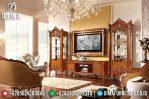 Klasik Furniture Set Bufet TV Jepara Mewah Jati TPK Prestige MM-0321