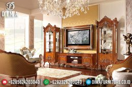 Klasik Furniture Set Bufet TV Jepara Mewah Jati TPK Prestige MM-0321