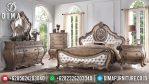 Mebel Jepara Terbaru Tempat Tidur Mewah Classic Victorian Terbaru MM-0312